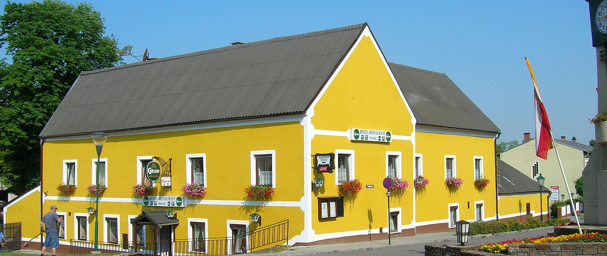 Hotel Gasthof Restaurant St 246 Ckl Bad Deutsch Altenburg In
